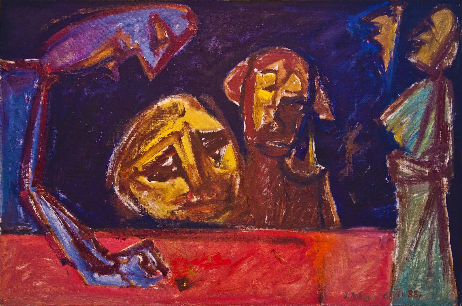 Володимир Лобода. Людська комедія. Ошукання, 1988