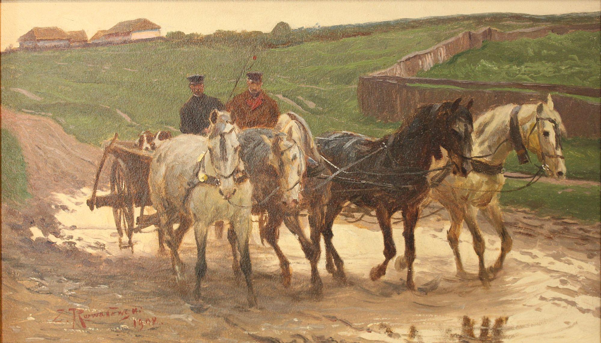 Зиґмунт Розвадовський. Четвірка, 1908