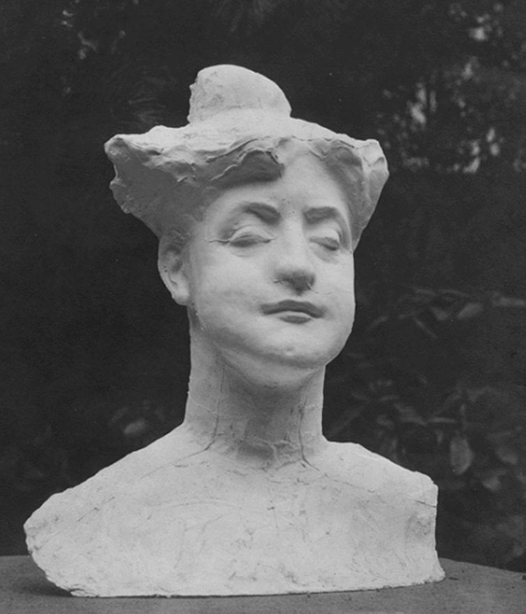 Густав Гвоздецький. Жіноче погруддя, 1905