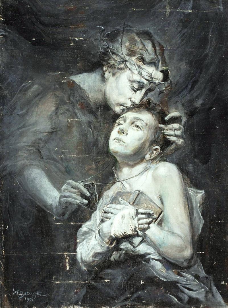 Станіслав Батовський-Качор. Dzieci wrzesińskie, 1906