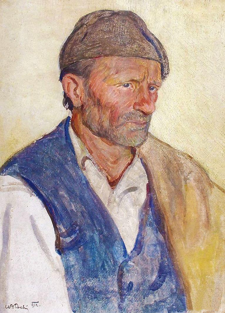 Володимир Блоцький. Сицилієць, 1912