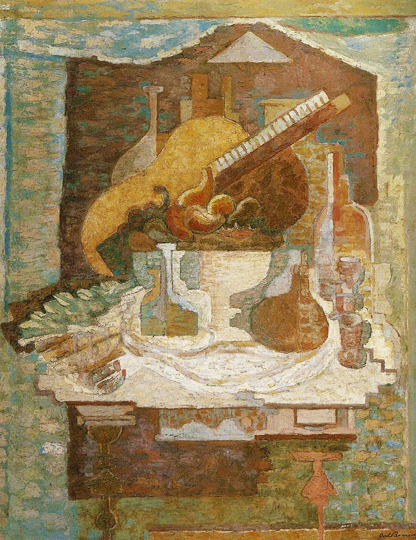 Анджей Пронашко. Натюрморт, 1939; олія, полотно; музей Чікаго