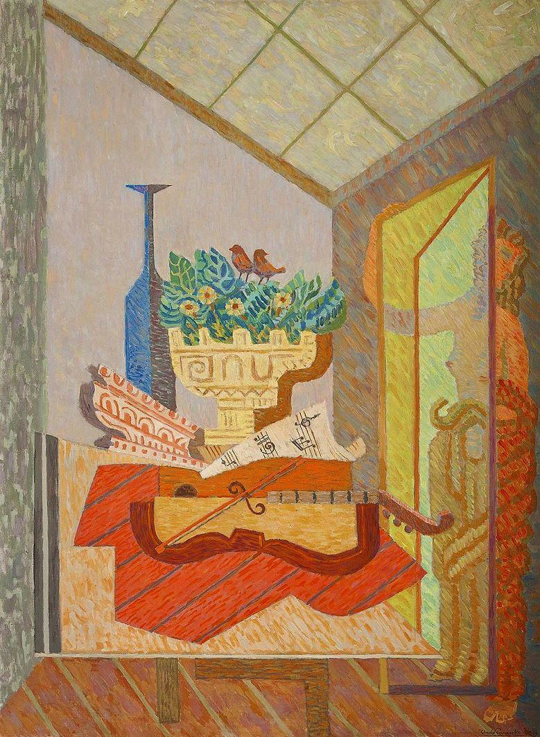 Анджей Пронашко. Ранок у студії, 1939; олія, полотно; NMW