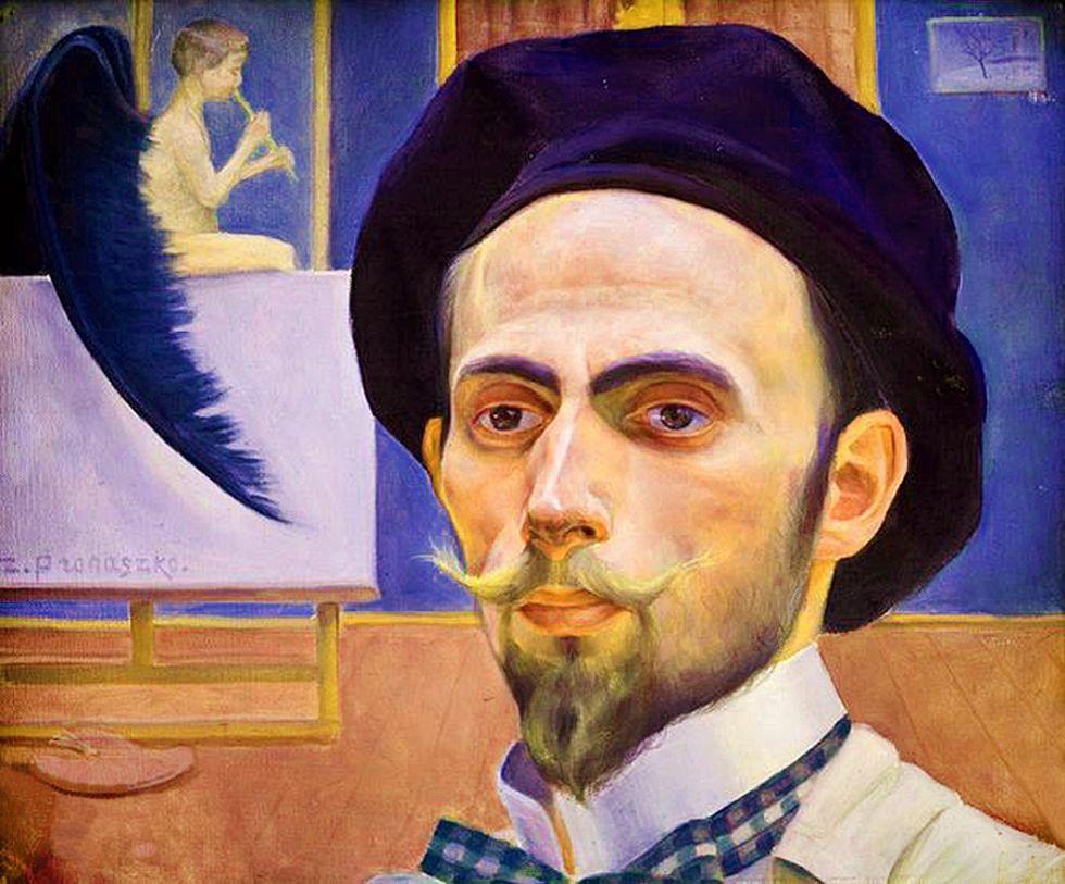 Збігнєв Пронашко. Автопортрет, 1909; полотно, олія; NMK
