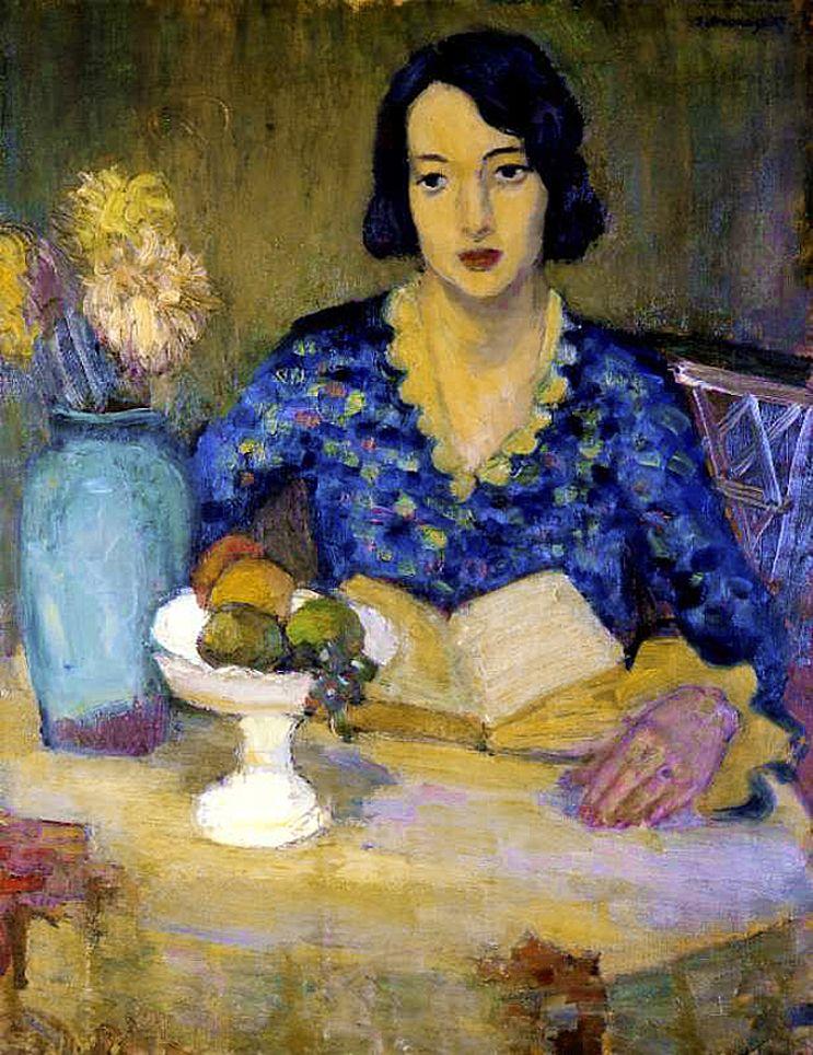 Збігнєв Пронашко. Портрет дружини, 1935; полотно, олія