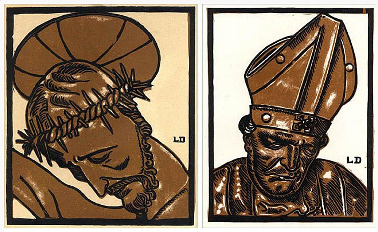 Леон Должицький. Готична скульптура, 1922; дереворит