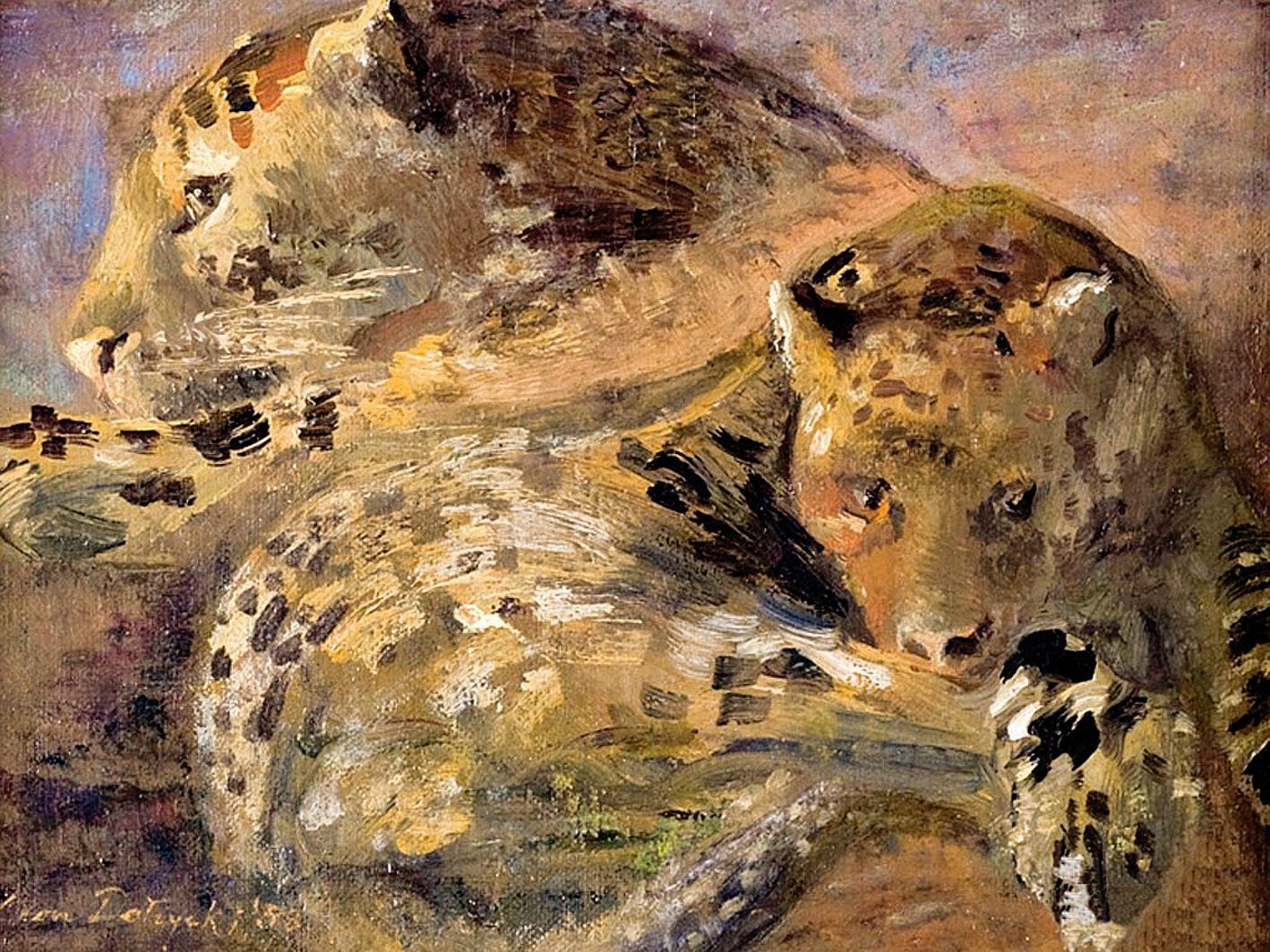 Леон Должицький. Леопарди