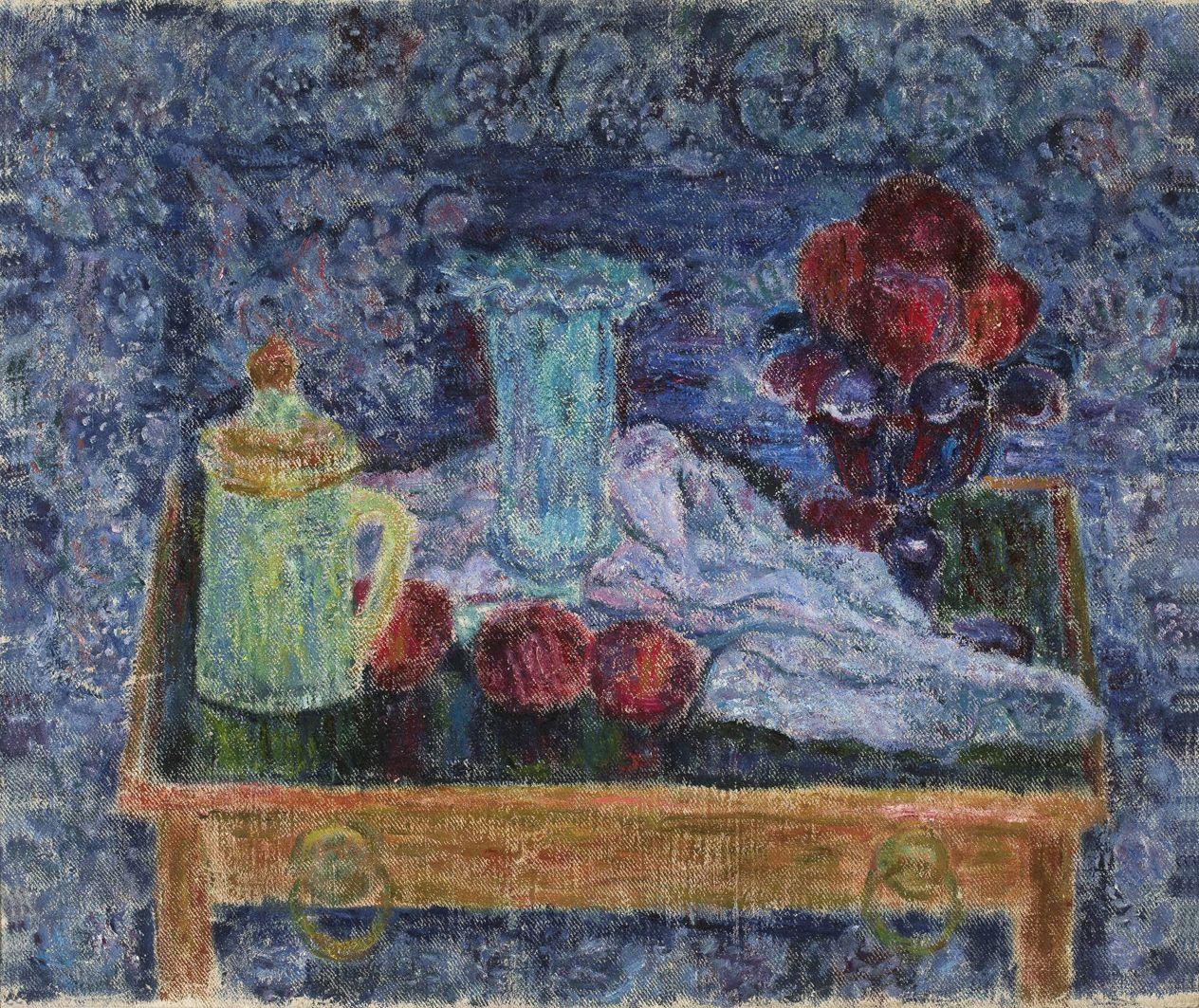 Леон Должицький. Натюрморт, 1949; олія, холст; MNW
