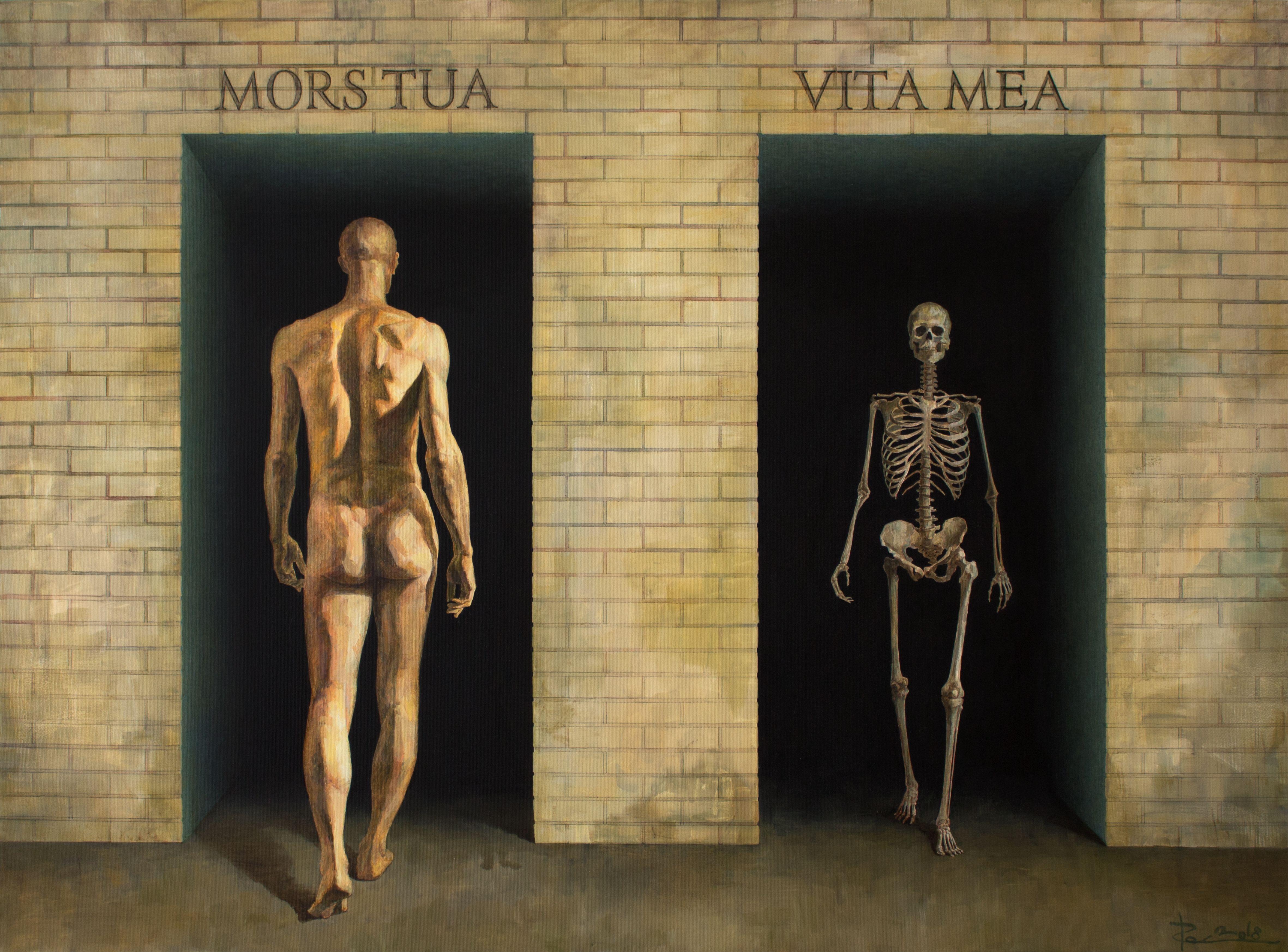 Ростислав Гарбар. Mors Tua Vita Mea, 2018; олія, полотно; 85x115