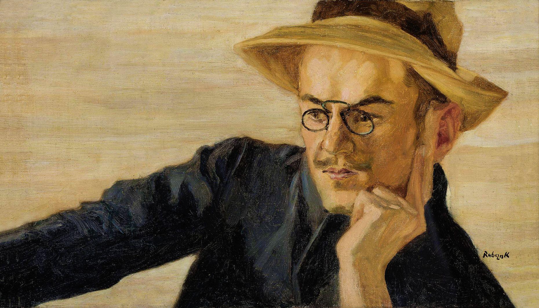 Ян Рубчак. Портрет, 1941; олія, полотно; NMW