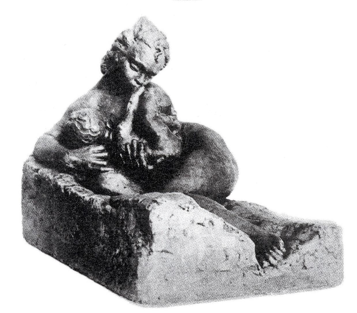Антін Павлось. Материнство, 1938; гіпс