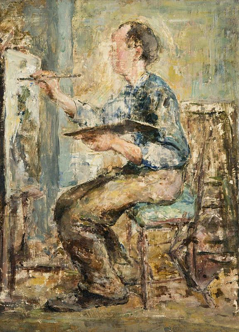 Давід Сейфер. Живописець, 1930; олія, полотно