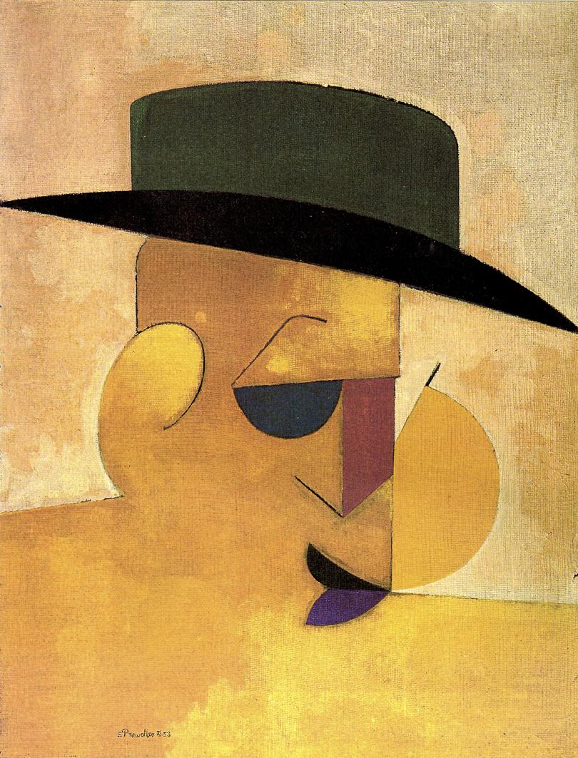 Емануель Проуллер. Американець в Парижі, 1953; олія, полотно