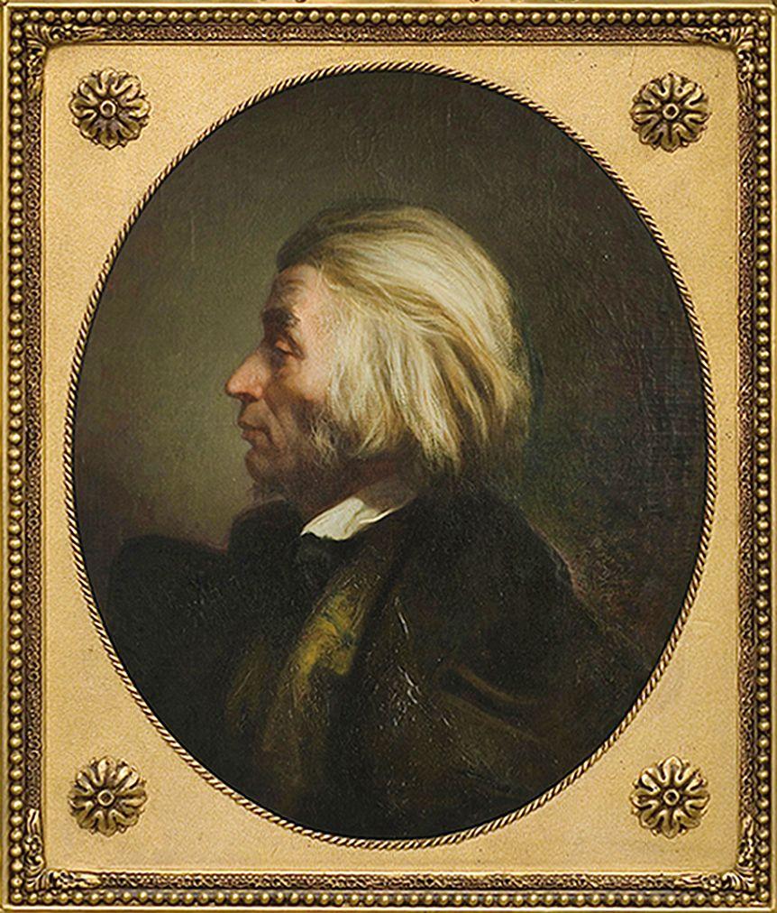 Францішек Томаш Тепа. Адам Міцкевич, 1857; полотно, олія