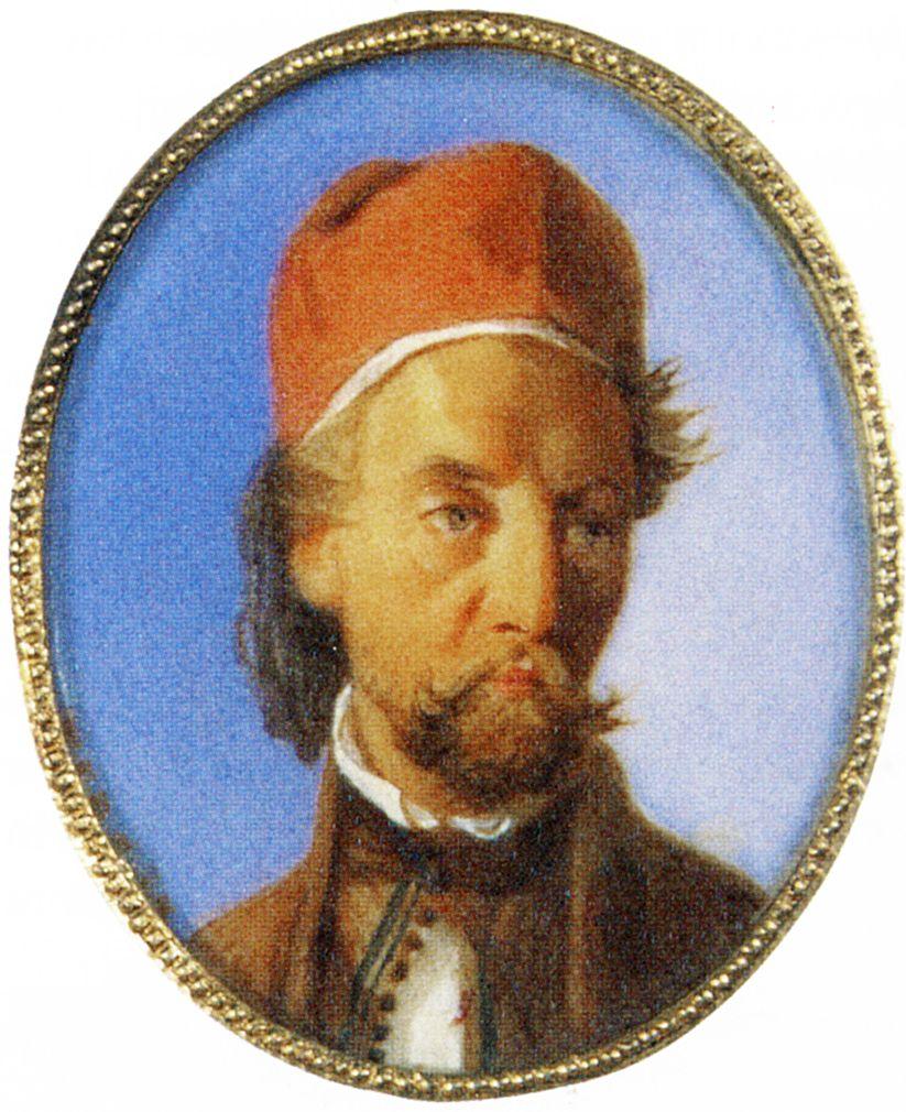 Францішек Томаш Тепа. Портрет графа Адама Потоцького