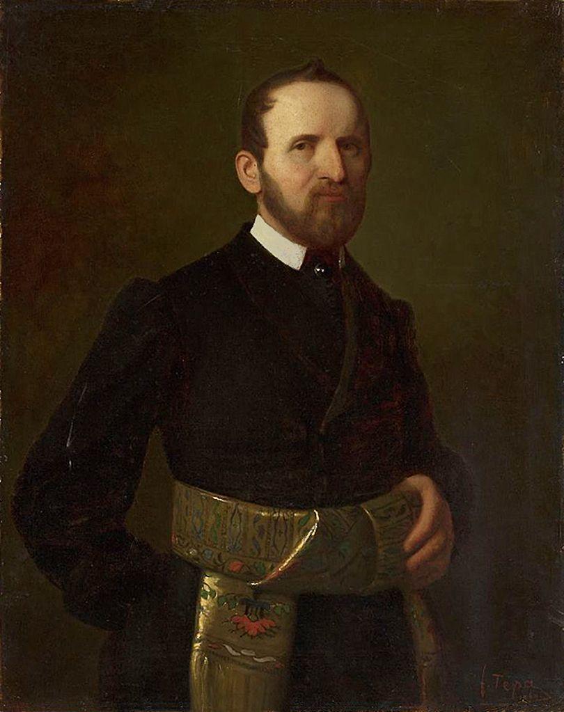 Францішек Томаш Тепа. Ентоні Балутовський, 1864; полотно, олія; NMW