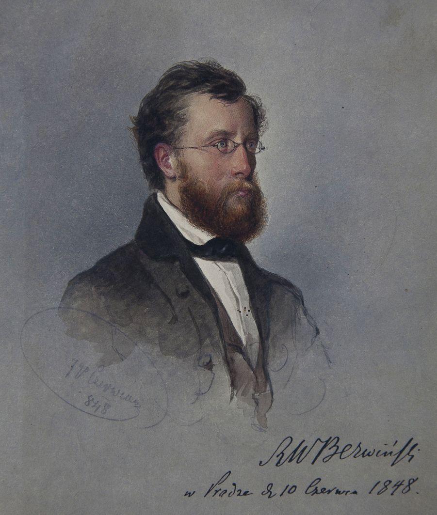 Францішек Томаш Тепа. Портрет, 1848, Прага