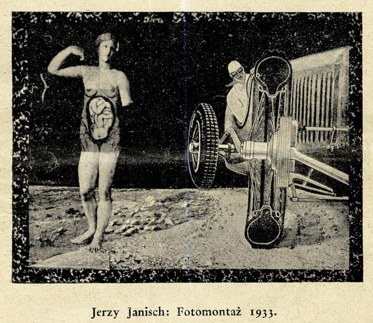 Єжи Яніш. Фотомонтаж; 1933