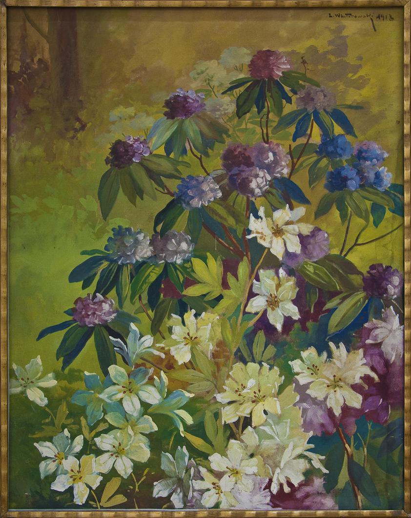 Леонард Вінтеровський. Квіти, 1913; папір, туш, гуаш; ЛНГМ