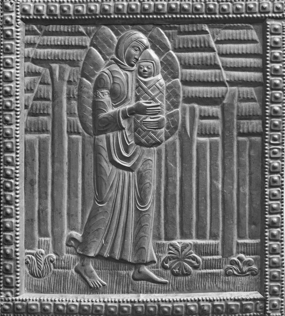 Михайло Бойчук. Катерина, 1910-і; мідь, карбування; ЛНГМ