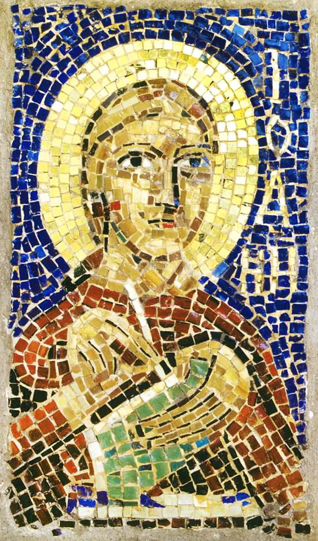 Михайло Бойчук. Святий Іоанн, 1910; мозаїка