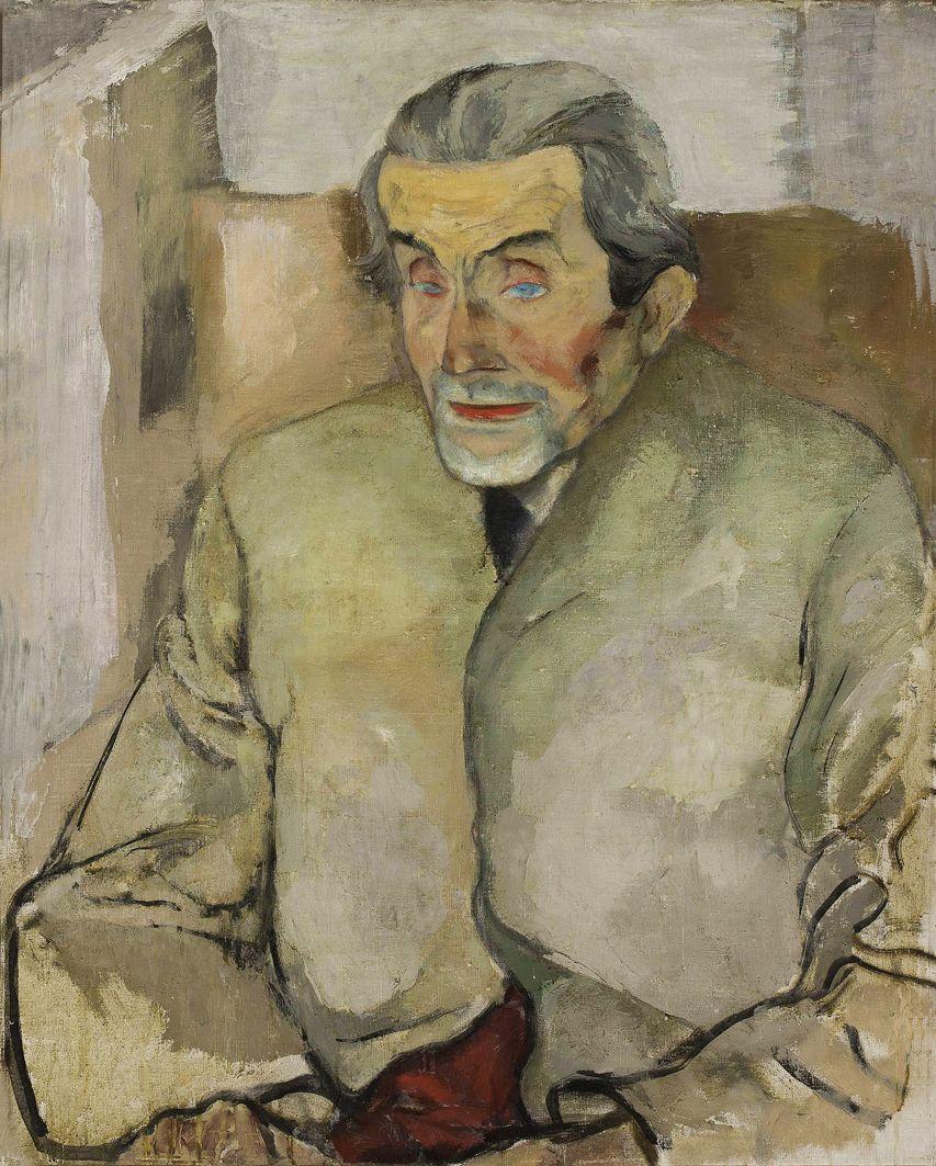 Леопольд Ґоттліб. Йозеф Міцкевич, 1929; олія, полотно; NMW