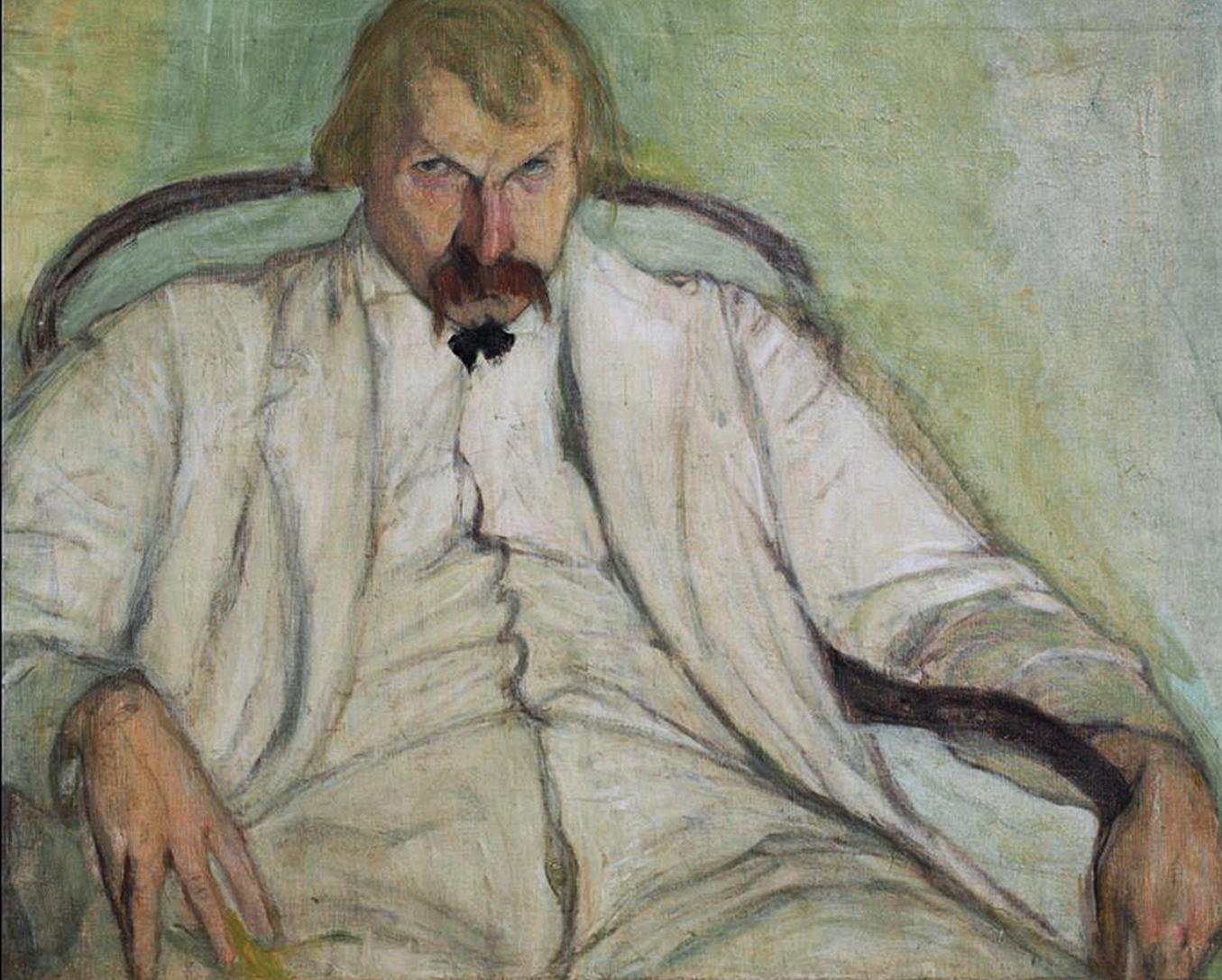 Леопольд Ґоттліб. Ксаверій Дуніковський, 1906; олія, полотно