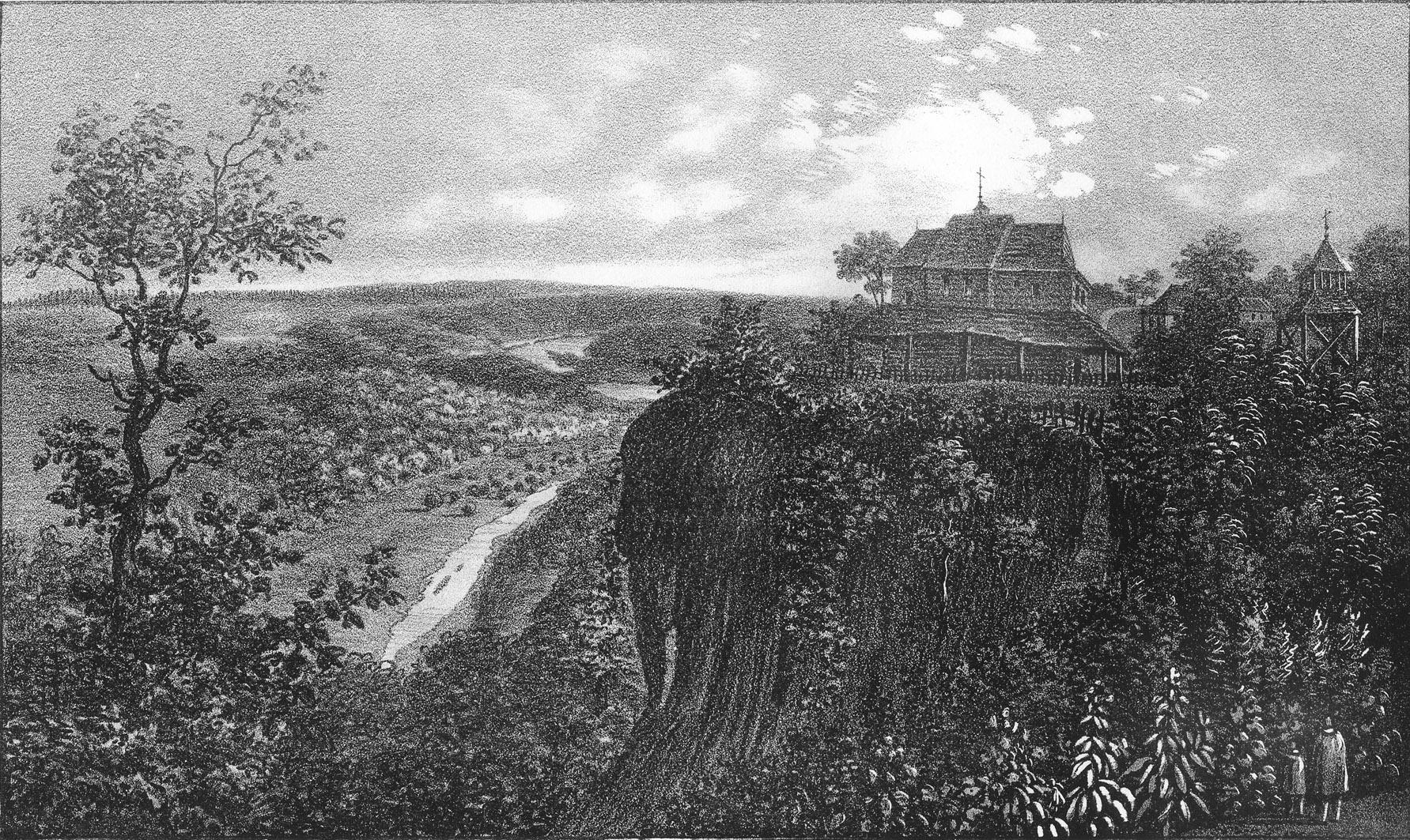 Мацей Боґуш Зиґмунт Стенчинський. Церква в селі Сокілець над Дністром, 1848