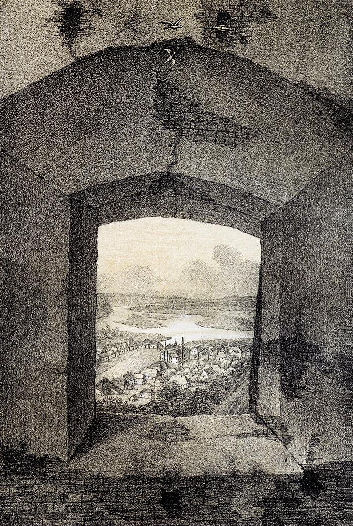 Мацей Боґуш Зиґмунт Стенчинський. Галич Івано-Франківська обл, 1848; літографія