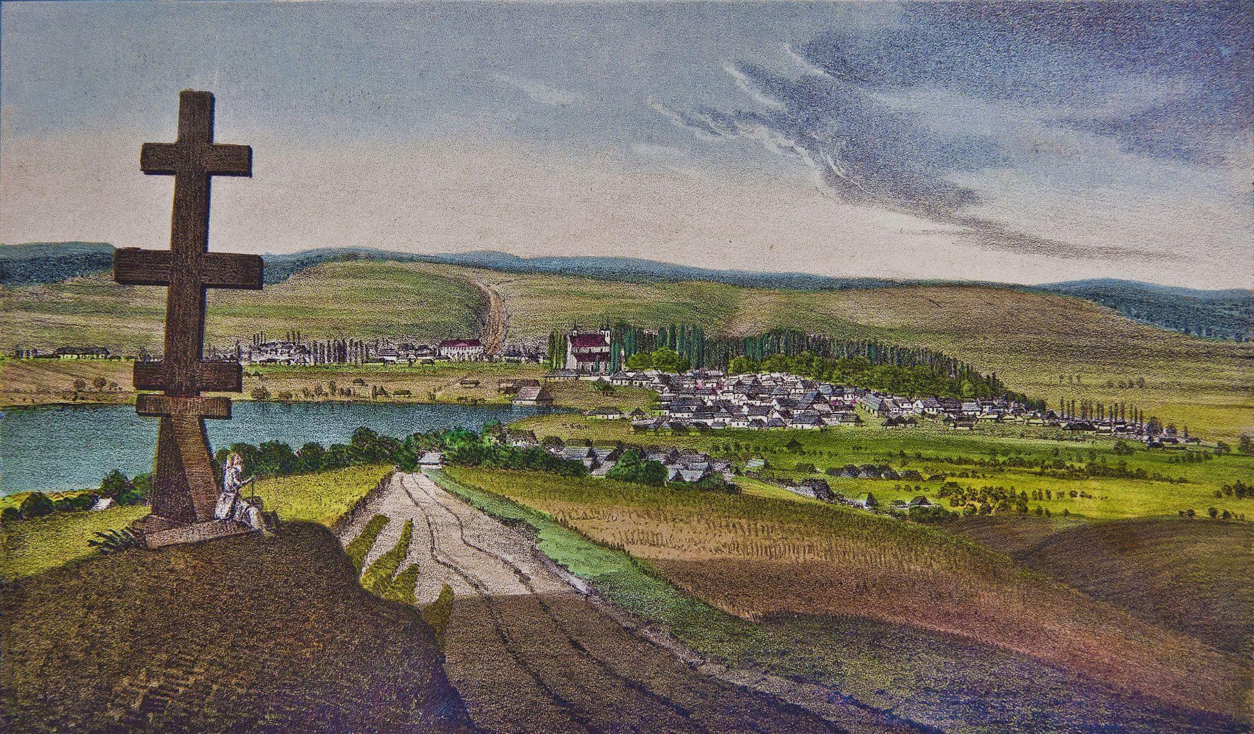 Мацей Боґуш Зиґмунт Стенчинський. Монастириська, Тернопіль обл, 1847; літографія