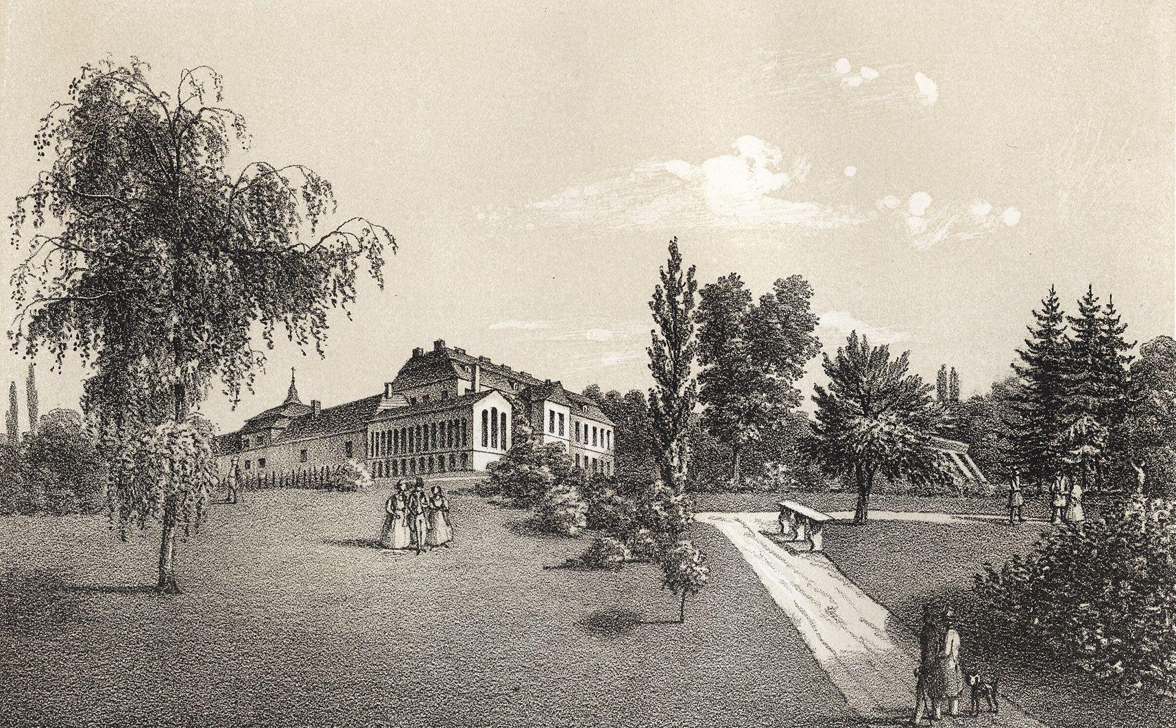Мацей Боґуш Зиґмунт Стенчинський. Палац в Пеняках (Броди), 1848