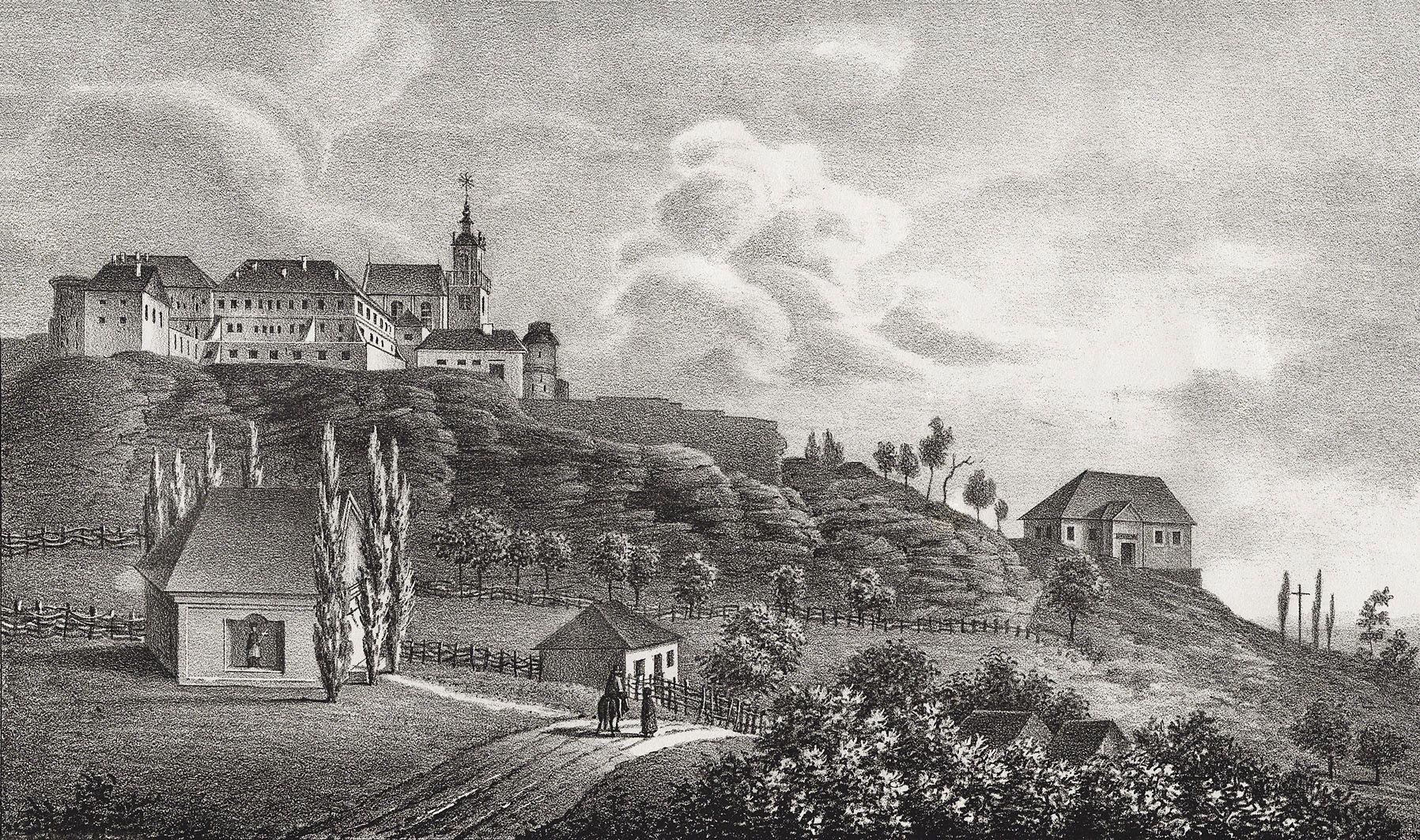 Мацей Боґуш Зиґмунт Стенчинський. Підкамінь (Броди) монастир, 1846; літографія