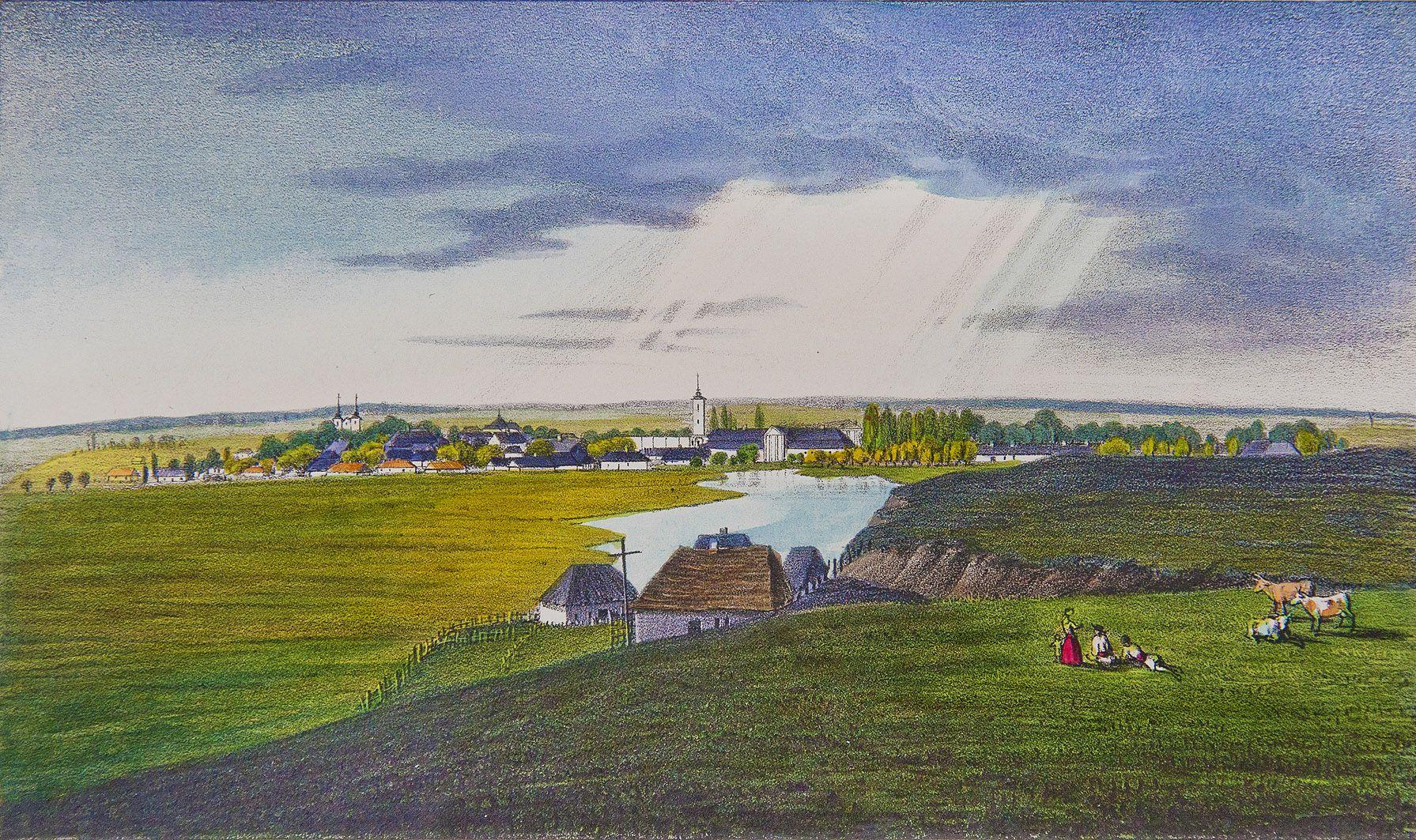 Мацей Боґуш Зиґмунт Стенчинський. Тартаків (Сокаль), 1847; літографія