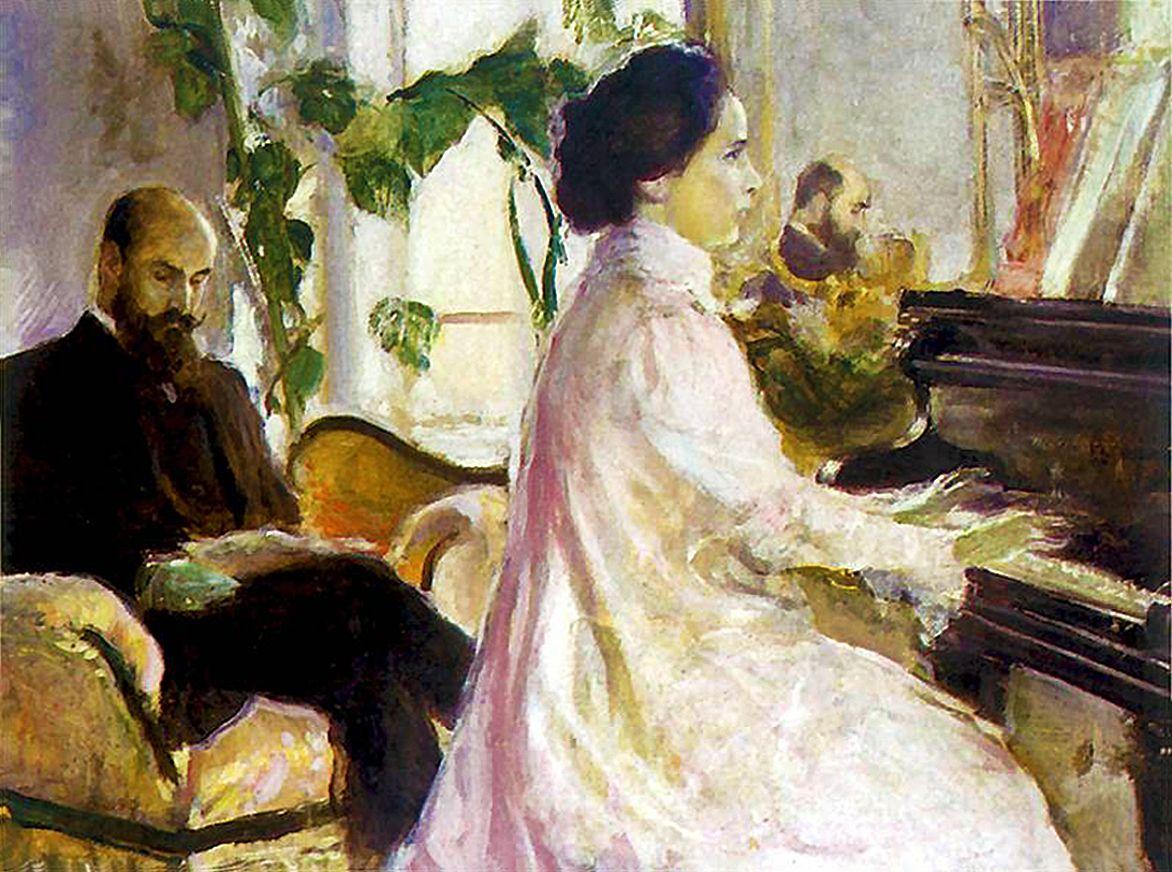 Станіслав-МечиславДембіцький. Дверницький з дружиною, 1902; олія, полотно; NMK