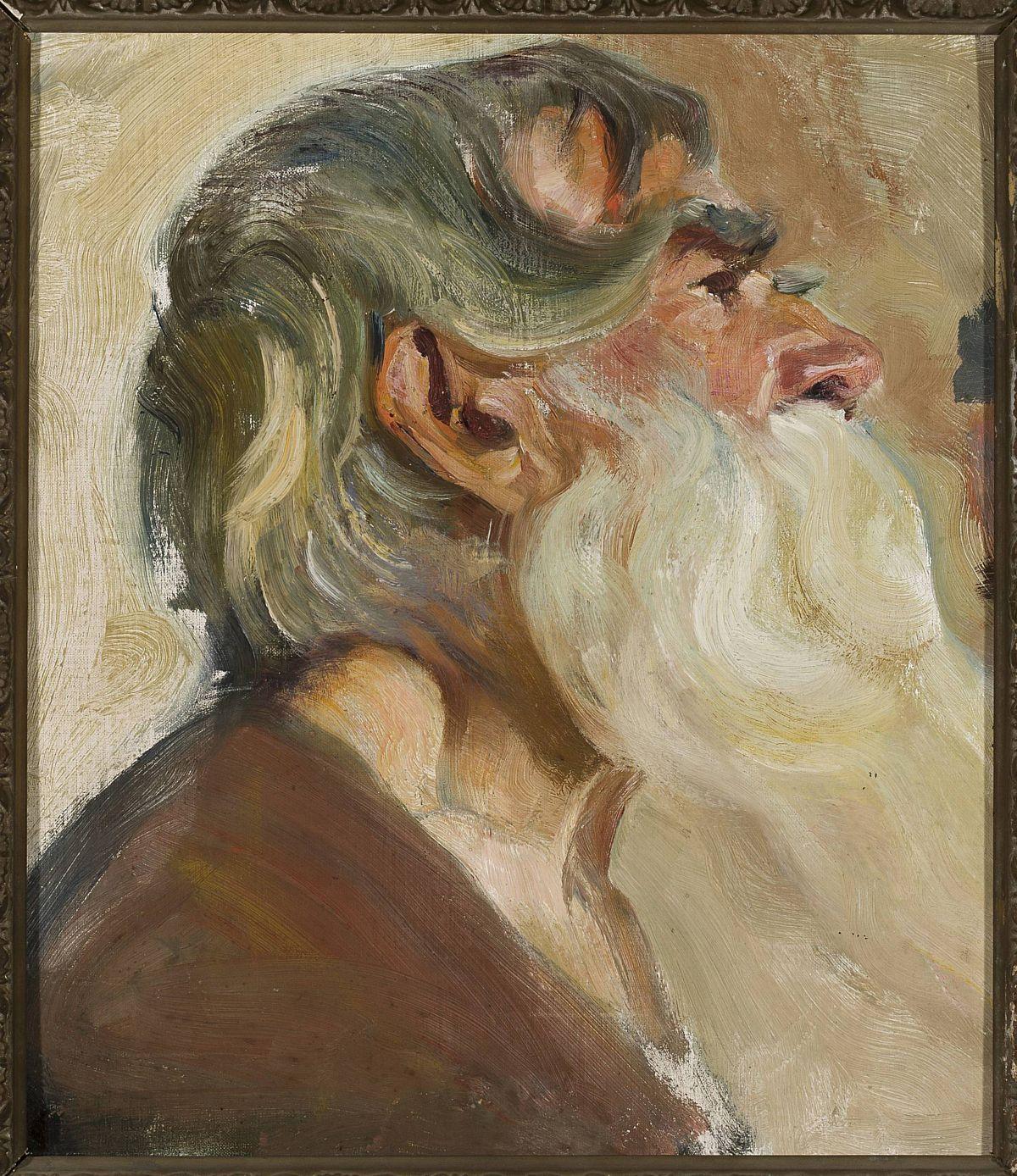 Станіслав-МечиславДембіцький. Етюд голови старого, 1903; олія, картон; NMW