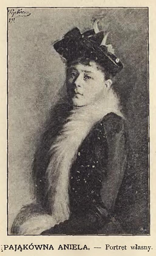 Анєля Пайонкувна. Автопортрет