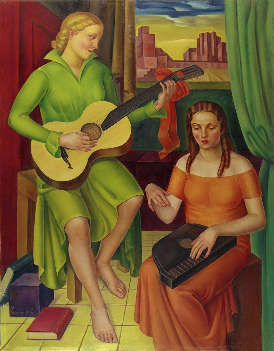 Марія Водзіцька. Концерт, 1933