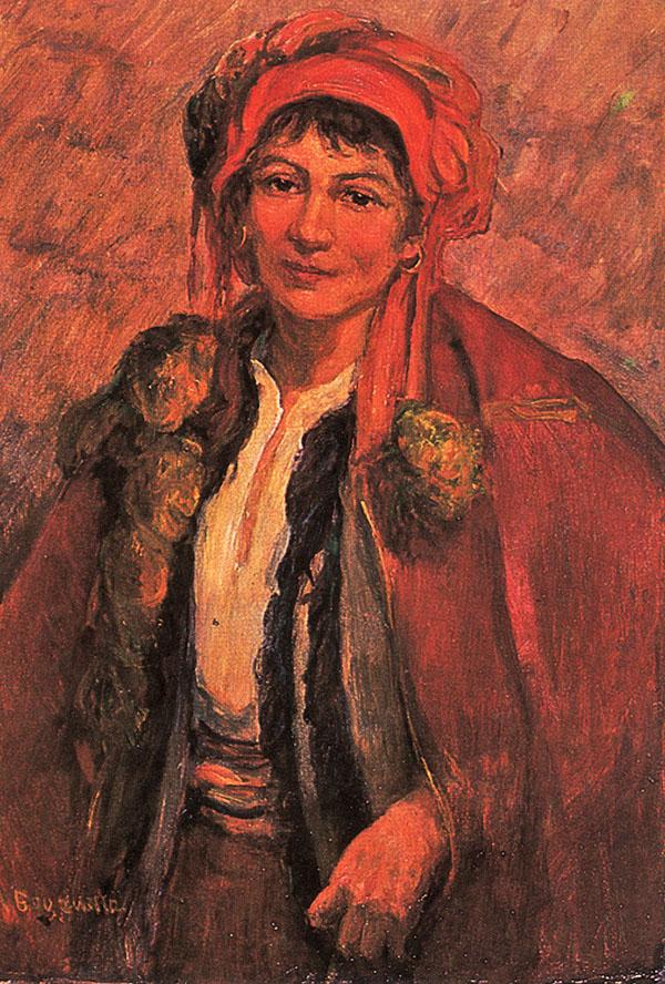 Марія Водзіцька. Жіночий портрет, 1960-ті