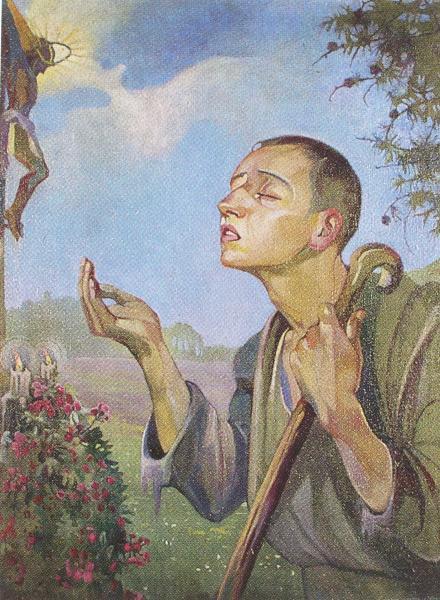 Регіна Шираєва. Молитва невідомого, 1920