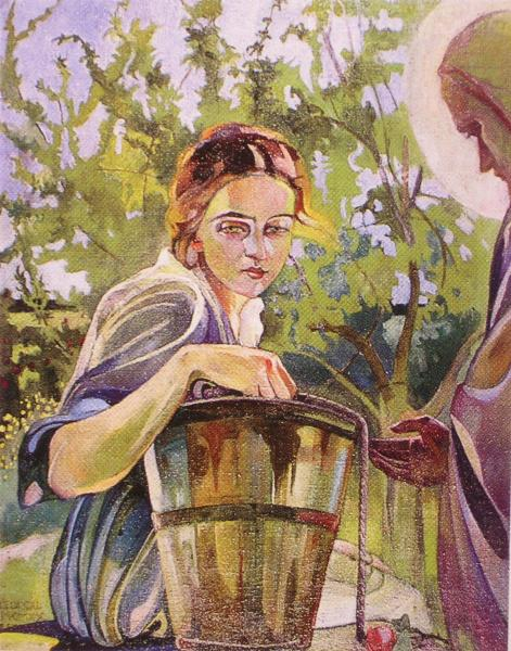 Регіна Шираєва. Самаритянка, 1920