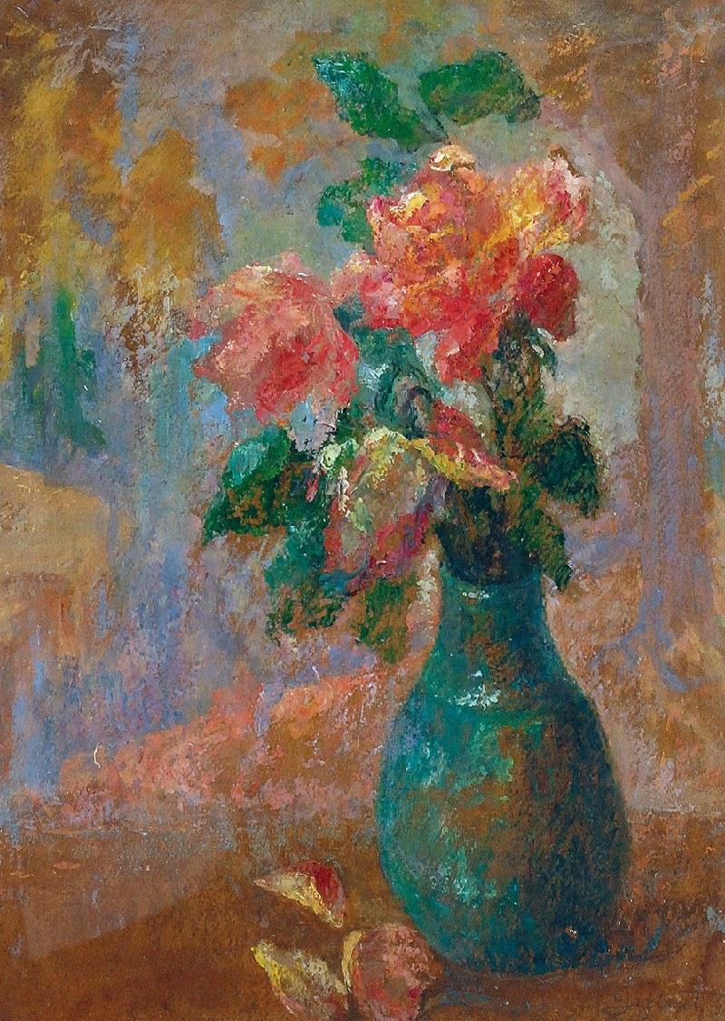 Марія Гіжберт-Студницька. Квіти у вазі