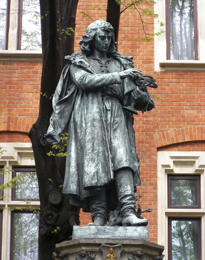Ципріан Годебський. Пам'ятник Миколаю Копернику, Краків, 1899; бронза