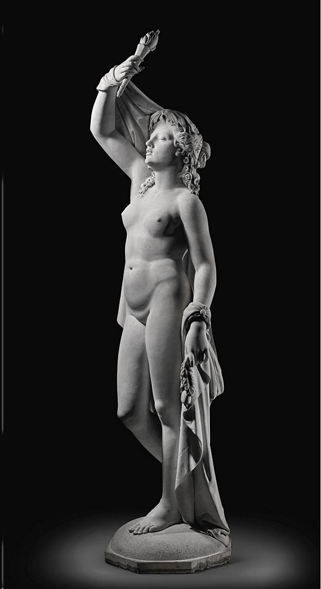 Ципріан Годебський. Пробудження, 1866; мрамор, h-195