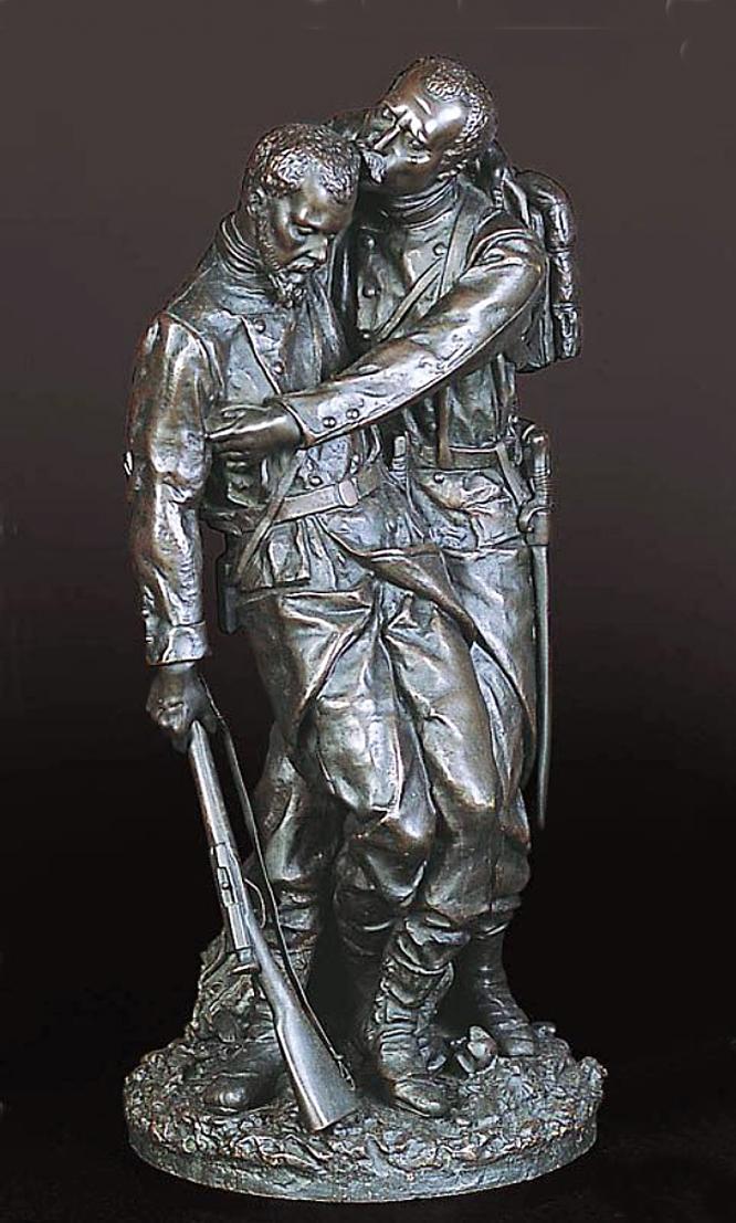 Ципріан Годебський. Прощання солдата; бронза, h-47