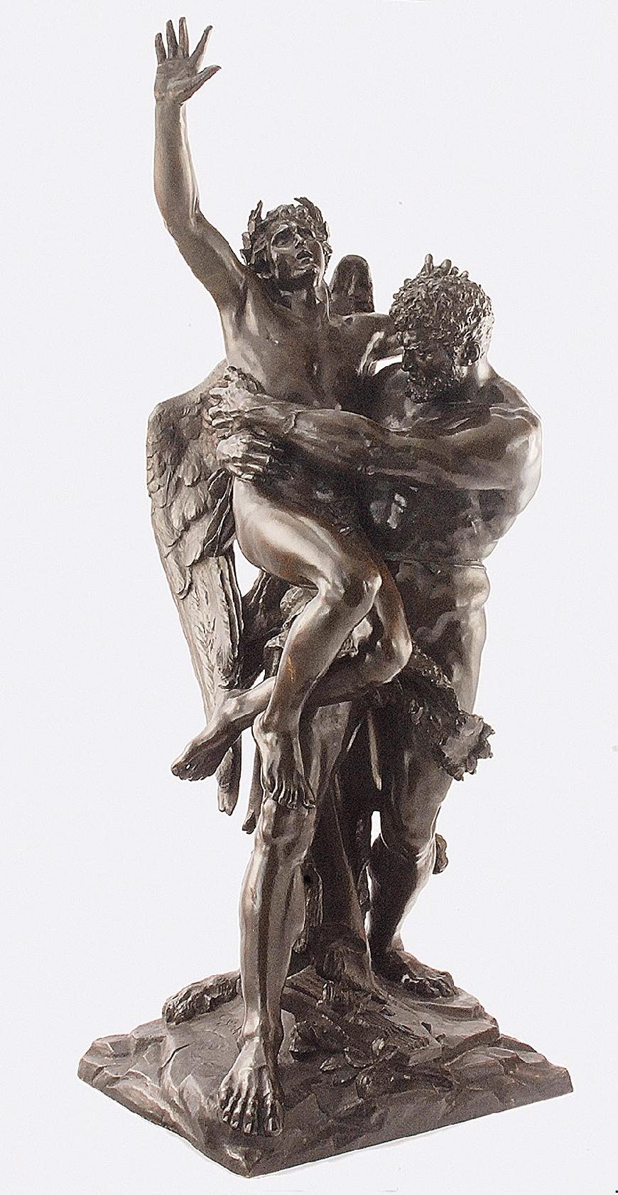 Ципріан Годебський. Зевс і німфа, 1888; бронза, h-93