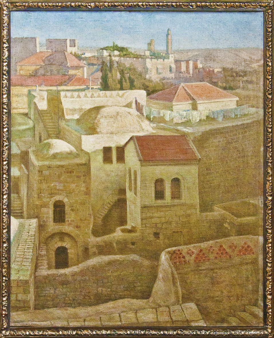 Модест Сосенко. Єрусалим, 1906; олія, полотно, НМЛ