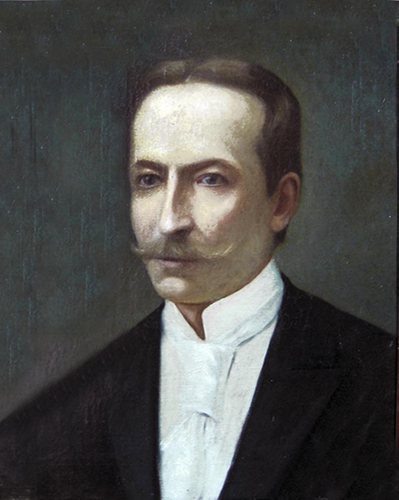Модест Сосенко. Портрет брата Юліяна; олія, полотно