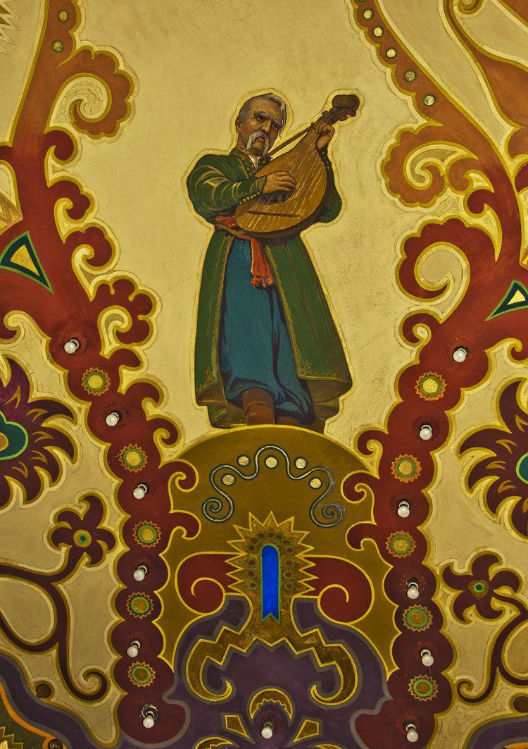 Модест Сосенко. Розписи Музичного інституту у Львові, 1915
