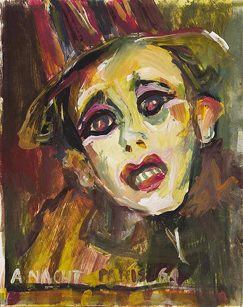 Артур Нахт-Самборський. Голова клоуна, 1964