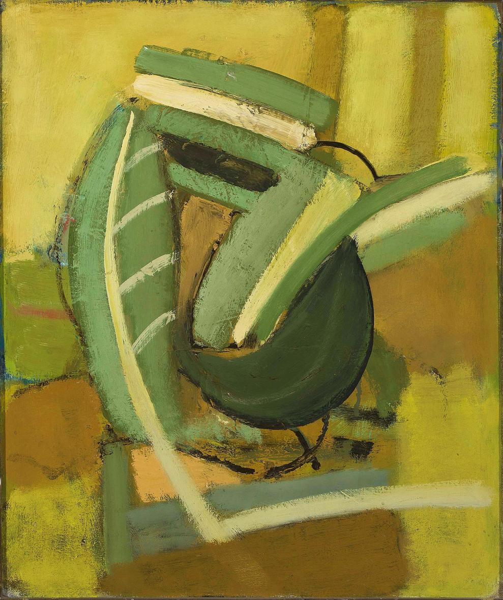 Артур Нахт-Самборський. Композиція, 1959; олія, полотно; NMW